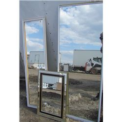 LOT OF 3 MIRRORS