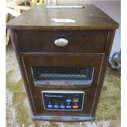 SPACE HEATER (GARRISION) *DIGITAL* (TIMER, VARIABLE SPEED SETTINGS) *IN CABINET* (HAS MANUAL)
