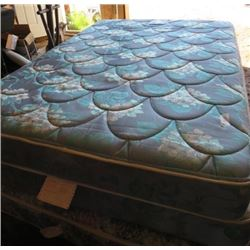MATTRESS AND BOXSPRING (DOUBLE)