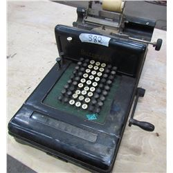 ADDING MACHINE (ANTIQUE) *VERY OLD AND INTERESTING*