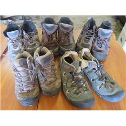 LOT OF 5 PAIR OF SHOES (SIZES: 11M, 10M, 11, 8.5M, 9.5M)