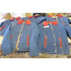 LOT OF 5 JACKETS (NOS) *SIZES FROM 8 TO 12*