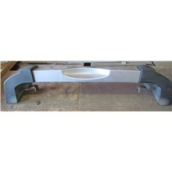 """JEEP BUMPER (COMES WITH HARDWARE AND ASSEMBLY) *70.5"""" LONG X 10"""" WIDE* (GREY)"""
