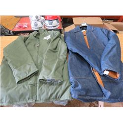 LOT OF 2 JACKETS (NOS) *SIZE 38 AND 40*