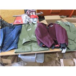 LOT OF 4 JACKETS (NOS) *SIZE 36*