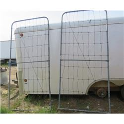 LOT OF 2 GATES (METAL) *4' HIGH X 9' WIDE*