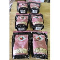 LOT OF 6 BAGS OF DOG TREATS (LIVER) *6 OUNCE BAGS* (FROMM) *NOS*