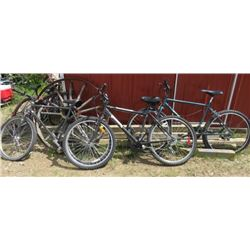 LOT OF 3 MOUNTAIN BIKES