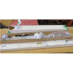 "BLIND AND LAMP FIXTURE (NOS) *BLIND: 64""L X 43.5"" W*"