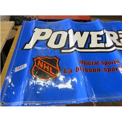 "POWERADE BANNER (OFFICAL SPORTS DRINK OF THE NHL) *68""L X 36""W*"