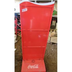 """COCA-COLA SIGN STAND (50""""H X 20.5""""L ) *2"""" THICK*"""
