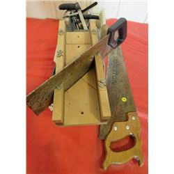 MITRE SAW AND MISC TOOLS