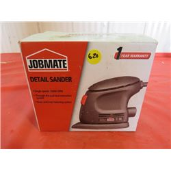 ELECTRIC SANDER (NOS) *DETAIL SANDER* (SAND PAPER AND OWNERS MANUAL)