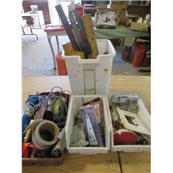 LOT OF TOOLS (CARPENTRY AND MECHANIC)