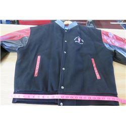 JACKET (MEN'S SIZE TALL 3XL) *CUSTOM TRUCK SALES* (LEATHER DETAIL)