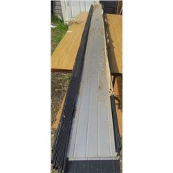 """LOT OF FASCIA (APPROX 12 PIECES) *9' LONG X 6""""WIDE*"""