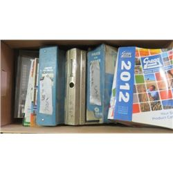 LOT OF 9 PART MANUALS, BUYING GUIDES AND CHRYSLER ACADEMY WORK BOOKS, ETC)
