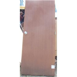 """LOT OF 4 DOORS (WOOD) *WITH KNOBS* (79"""" X 32"""")"""