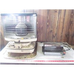KEROSENE HEATER AND GE TOASTER OVEN