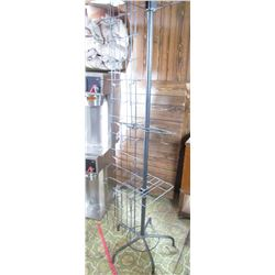 "METAL MAP RACK (19"" BASE X 67"" TALL) *BLACK* (ONLY PIECES IMAGED ARE AVAILABLE)"