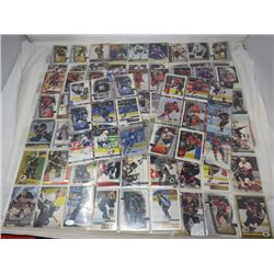 LOT OF ASSORTED HOCKEY CARDS (198 TOTAL)