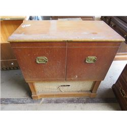 """RECORD PLAYER CABINET (VINTAGE) *35.5"""" X 31"""" X 16""""*"""