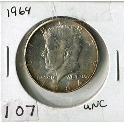 FIFTY CENT COIN (USA) *1964