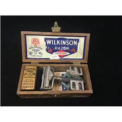 WILKINSON SWORD SAFETY RAZOR (WITH WOODEN BOX)