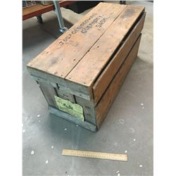 WOODEN EGG CRATE (ANTIQUE)