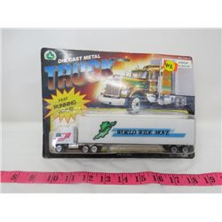 DIE CAST METAL TRUCK (WORLD WIDE MOVERS) *CHINA*