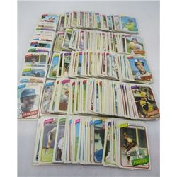 "LOT OF BASEBALL CARDS (O-PEE-CHEE) *YANKEES, CUBS, RANGERS, PADRES, ETC* (9.5"" HIGH STACK)"