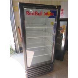 "RED BULL COOLER ( 54"" TALL X 25' LONG X 22.5"" WIDE) *AS IS*"