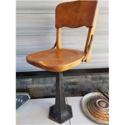 CAFE STOOL (1920S) *EXCELLENT CONDITION*