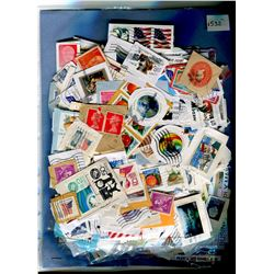 DOUBLE SIDED PACKAGE OF ASSORTED STAMPS (GREAT ASSORTMENT)