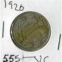 FIFTY CENT COIN (CANADA) *1920*