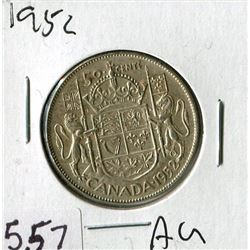 FIFTY CENT COIN (CANADA) *1952*
