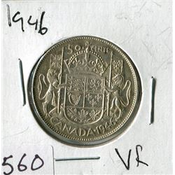 FIFTY CENT COIN (CANADA) *1946*