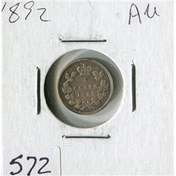 FIVE CENT COIN (CANADA) *1892*