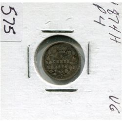 FIVE CENT COIN (CANADA) *1874*