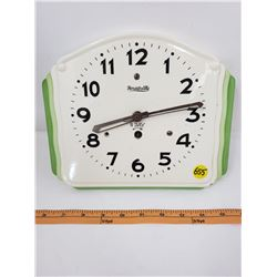 8 DAY CLOCK  (FORESTVILLE) *NO KEY*