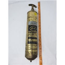 BRASS FIRE EXTINGUISHER (PYRENE)