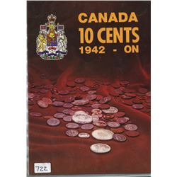 LOT OF 24- TEN CENT COINS (CANADA) *ASSORTED DATES*