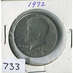 FIFTY CENT COIN (USA) *1972*