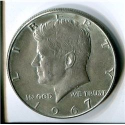 FIFTY CENT COIN (USA) *1967*