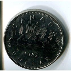ONE DOLLAR COIN (CANADA) *1983*