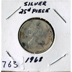 25 CENT COIN (CANADA) *1968*