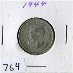 25 CENT COIN (CANADA) *1944*