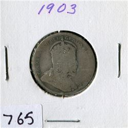 25 CENT COIN (CANADA) *1903*