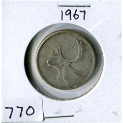 25 CENT COIN (CANADA) *1967*