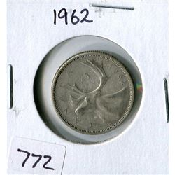 25 CENT COIN (CANADA) *1962*